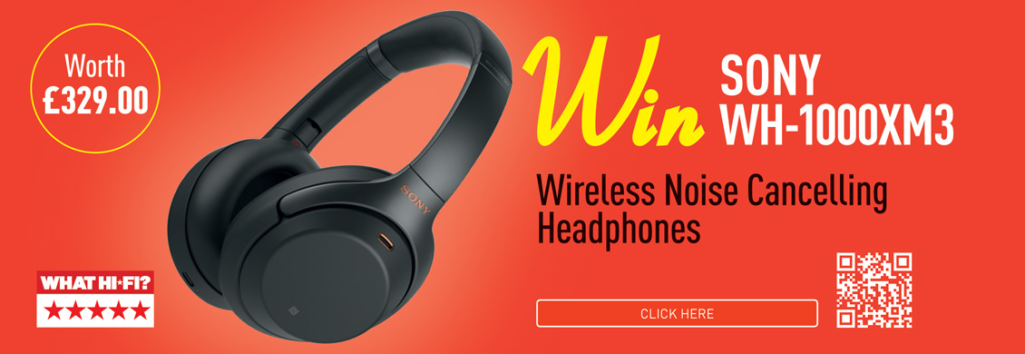 Win A Pair Of Sony WH-100XM3