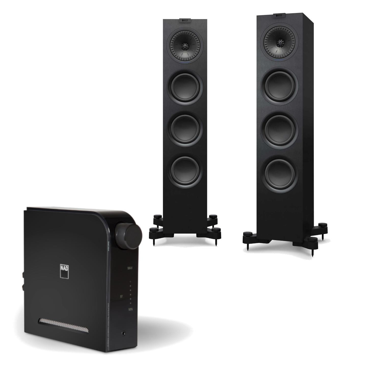 Sevenoaks Sound and Vision - NAD D 3020v2 KEF Q550 Speakers