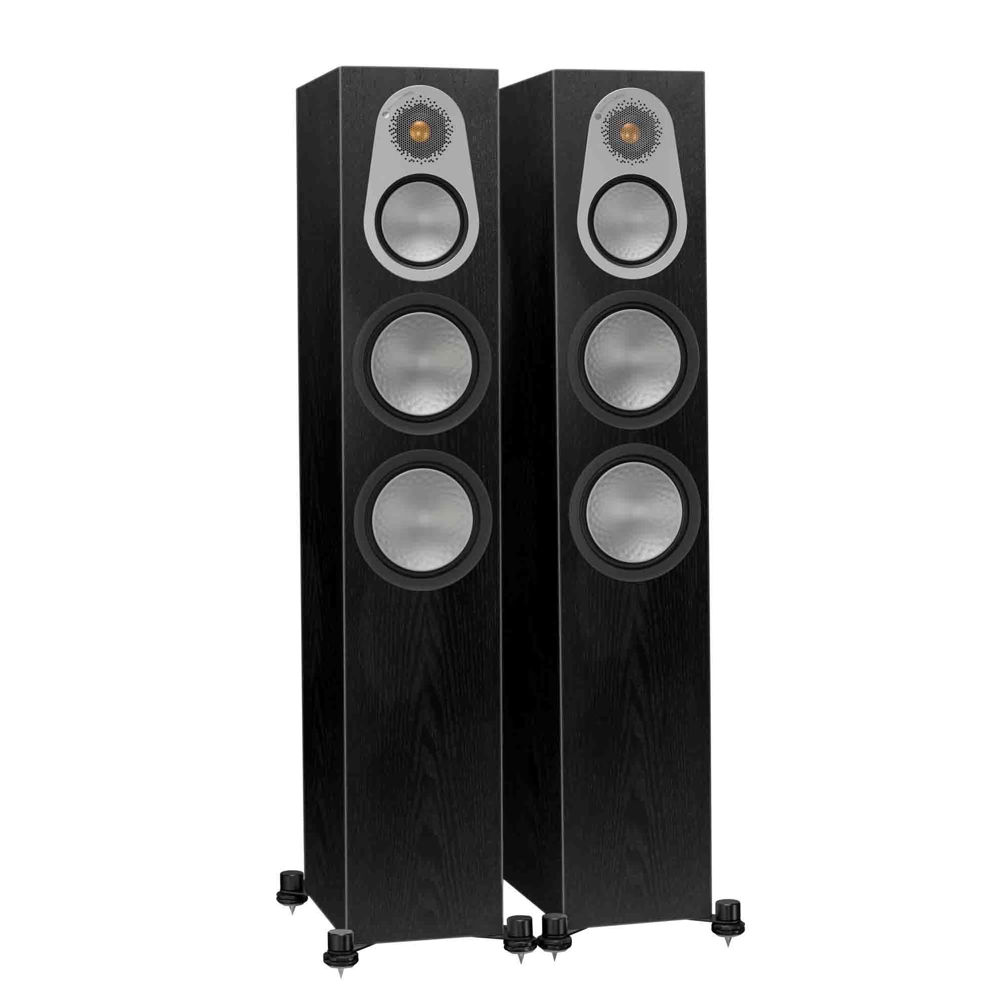 Sevenoaks Sound And Vision Monitor Audio Silver 300 Speakers