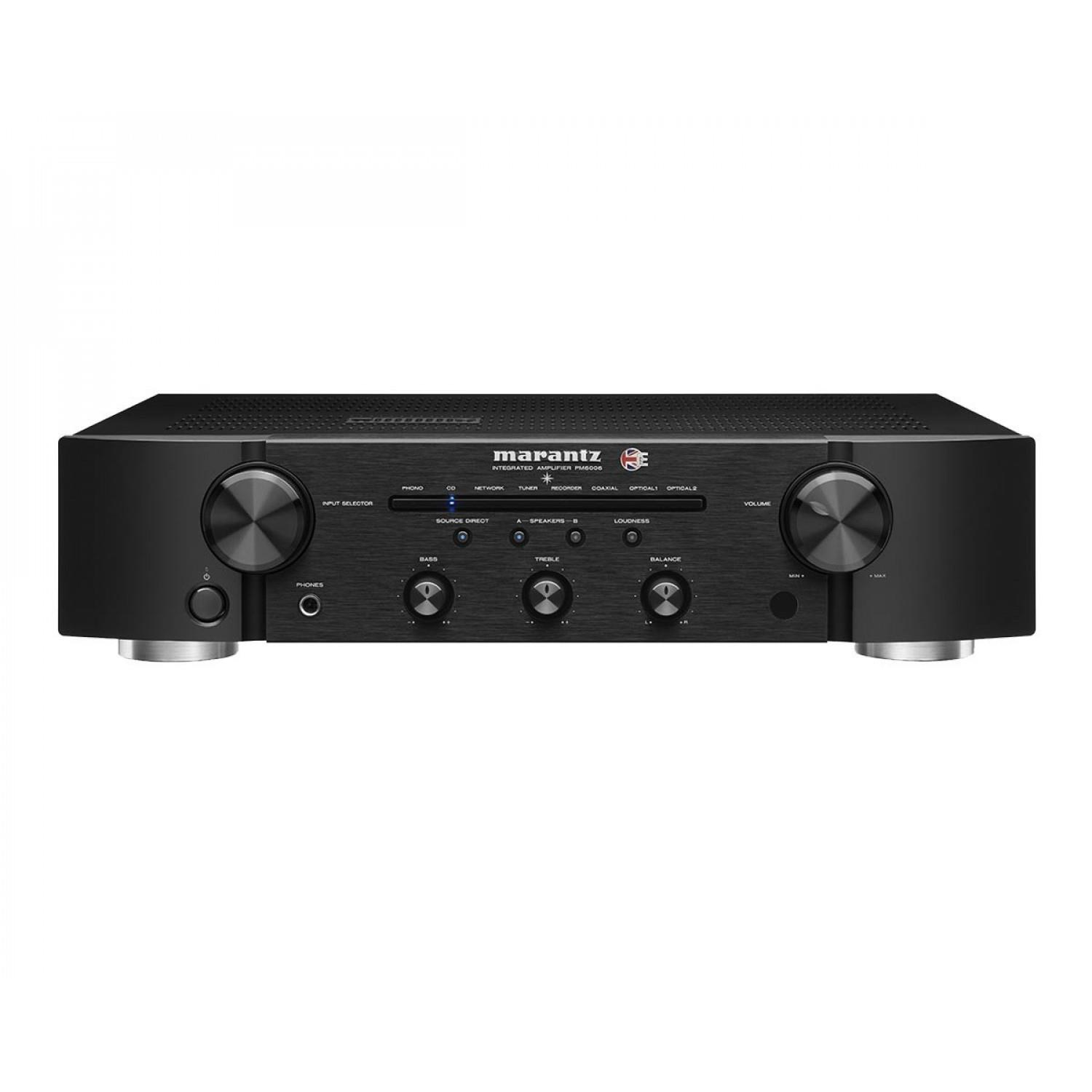 Sevenoaks Sound And Vision Marantz Pm6006 Uk Edition Amplifier Dac 45w Power Include Tone Control