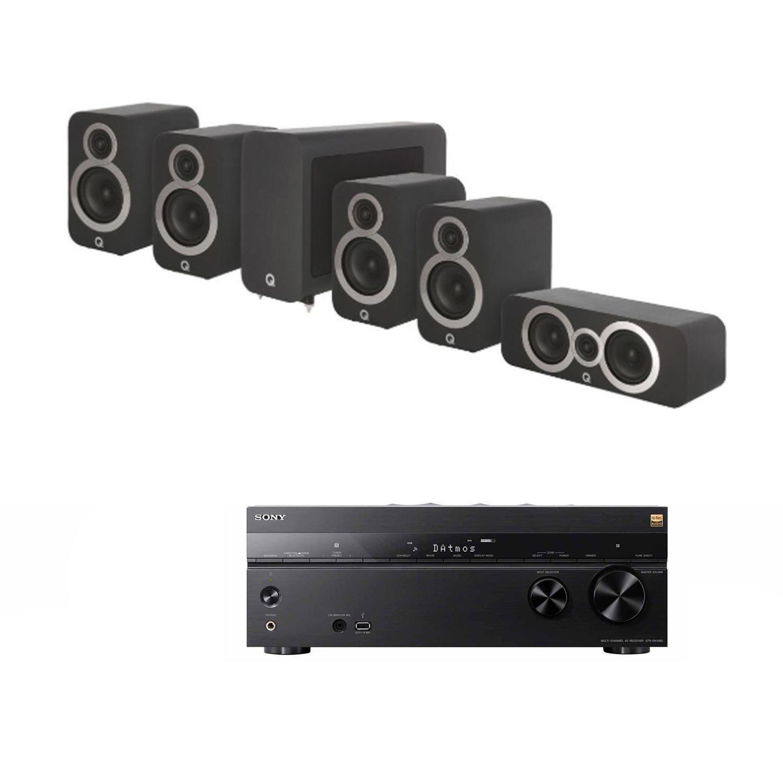 sony str dn1080. sevenoaks sound and vision - sony str dn1080 av receiver q acoustics 3000 5 1 cinema pack str dn1080