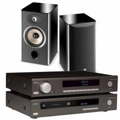 Sevenoaks Sound and Vision - Arcam SA10 & CDS50 Focal Aria 906