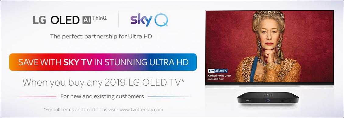 LG Sky Q Promotion