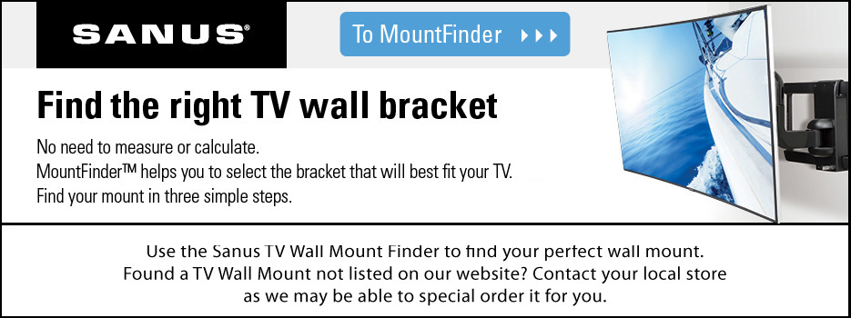 Sanus Tv Wall Mount Finder