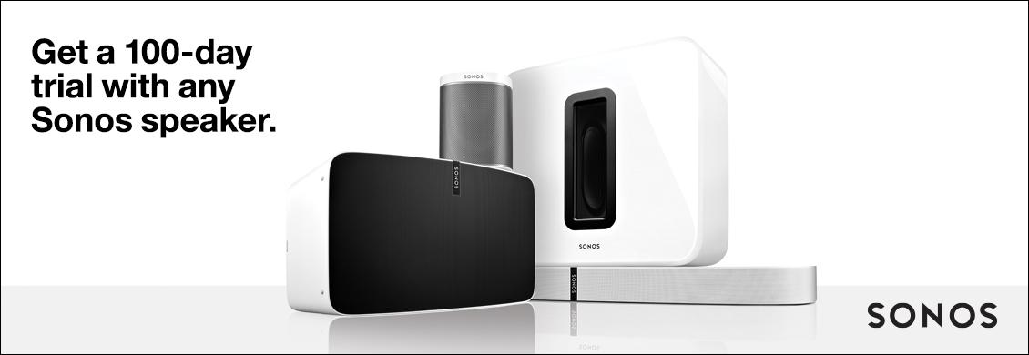 Sonos 100 Day Trial
