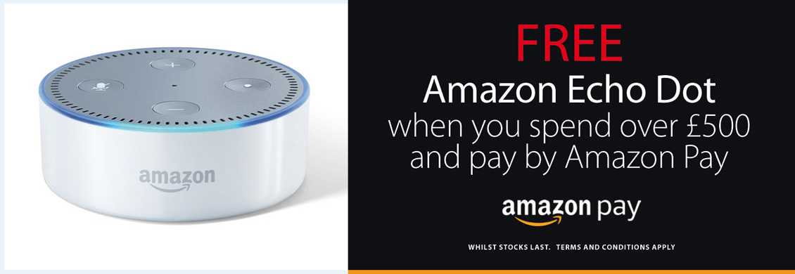 Free Echo Dot On Orders Over £500 Paid By Amazon Pay