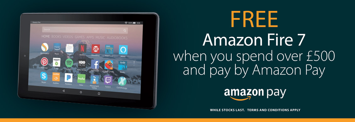 Free Fire 7 On Orders Over £500 Paid By Amazon Pay