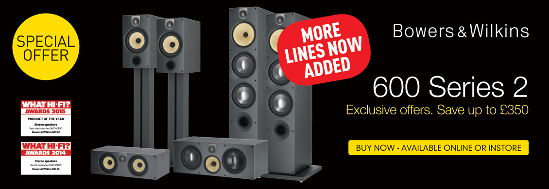 Bowers and Wilkins 600 Series 2 Offers