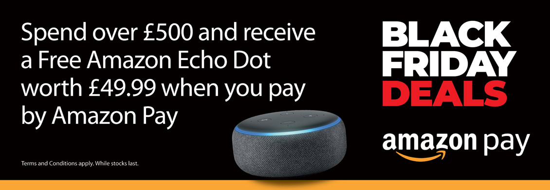 Free Amazon Echo Dot (3rd Gen) On Orders Over £500 Paid By Amazon Pay