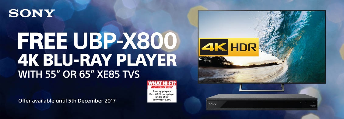 Free Sony Bluray Player Promotion