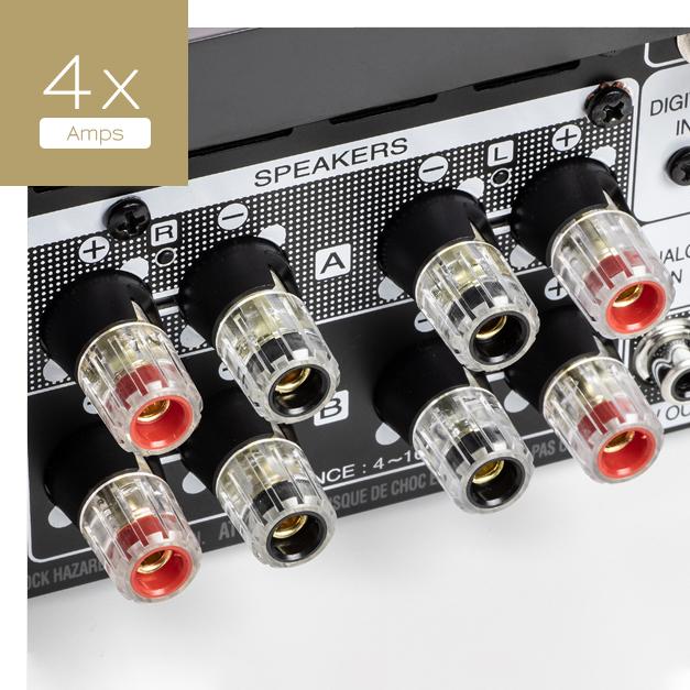 4 amplifiers