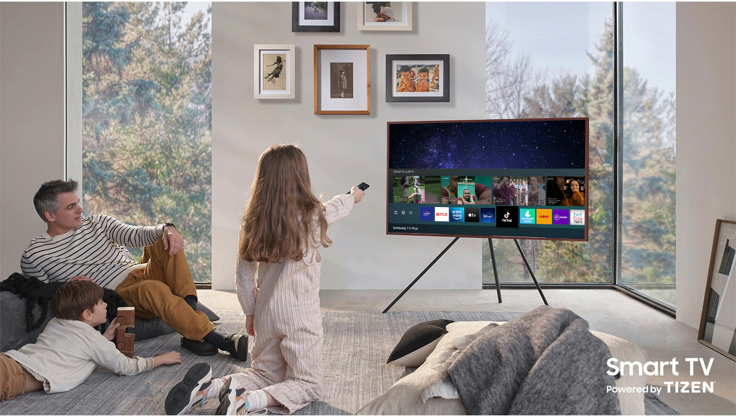 Samsung 55 LS03A 4K Frame QLED Powered By HDR10+ Smart TV 2021