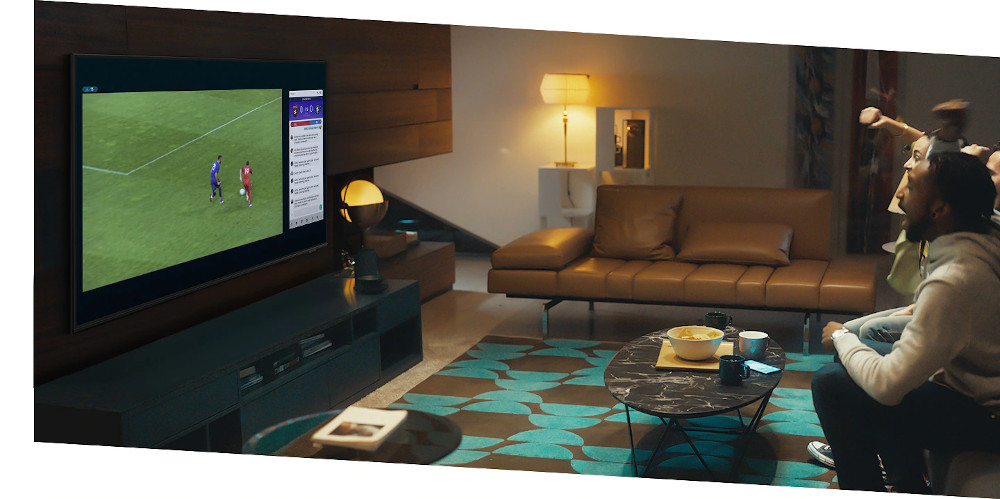 Samsung 55 Q65A 4k QLED Powered By HDR10+ Smart TV 2021