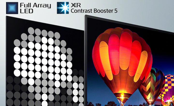 XR-65X90J | BRAVIA XR | FULL ARRAY LED | 4K ULTRA HD | HIGH DYNAMIC RANGE (HDR) | SMART TV (GOOGLE TV)