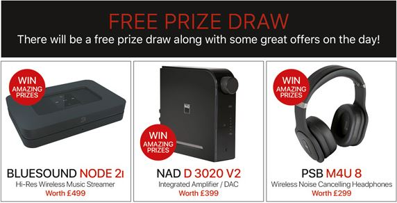 The Master Sessions Prize Draw